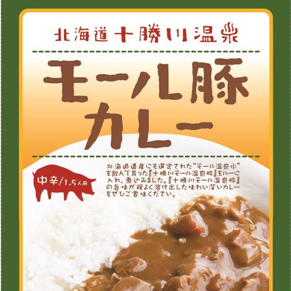 十勝川温泉 モール豚カレー