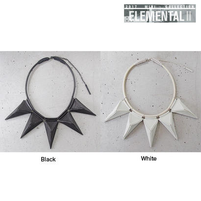 TRIANGULAR pyramid big necklace