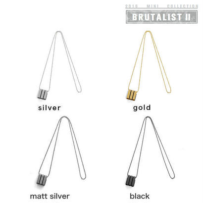 3 BARS long chain necklace
