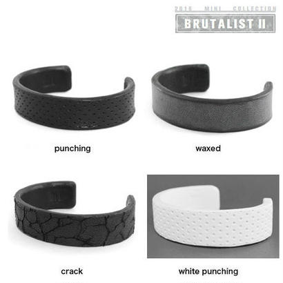 WRAPPED leather bracelet small