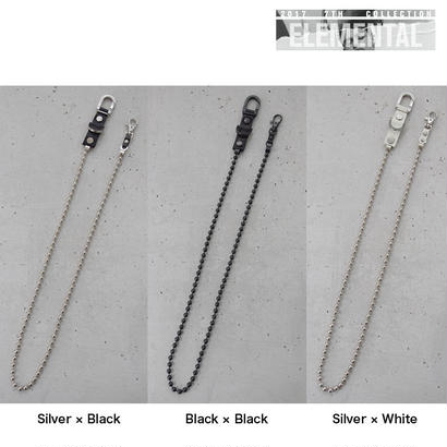 BALL CHAIN wallet strap