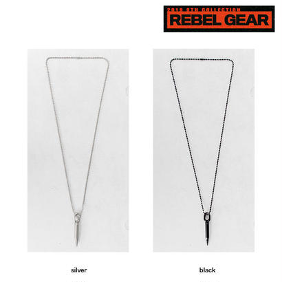 BULLET long chain necklace