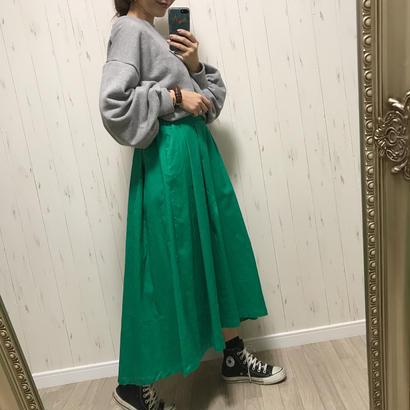 テールカットカラースカート