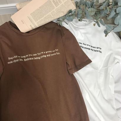 6/15入荷・cotton100%ロゴTシャツ