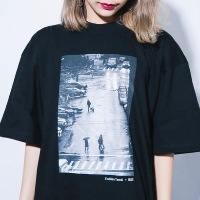 YOSHIHIRO TATSUKI × BLIXZY T-SHIRT  BLACK