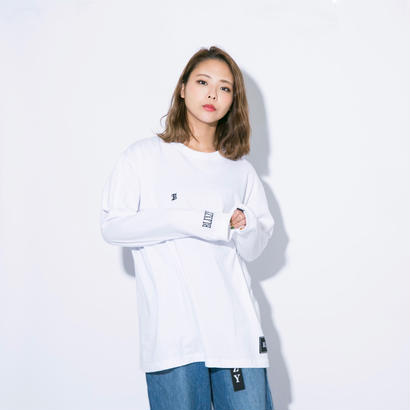 "B"" LOGO  LONG T-SHIRT"