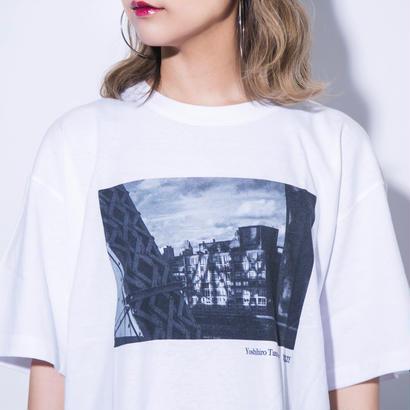 【残り僅か】YOSHIHIRO TATSUKI × BLIXZY T-SHIRT  WHITE