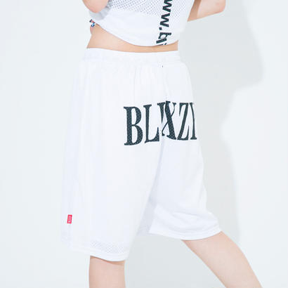 Back Print Mesh Halfpants