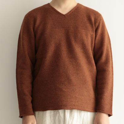 COSMIC WONDER/タスマニアウールのセーター(men's/BROWN)