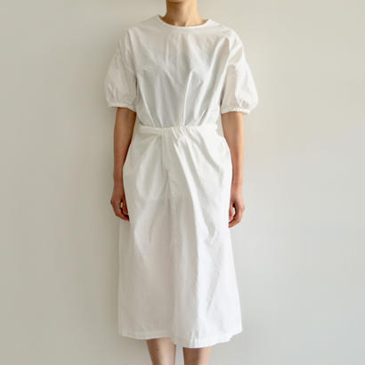 COSMIC WONDER /有機栽培綿の巻ドレス(WHITE/lady's)