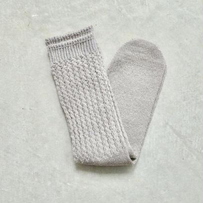COSMIC WONDER / 大麻の靴下(gray)