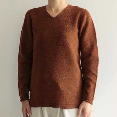 COSMIC WONDER/タスマニアウールのセーター(lady's/BROWN)