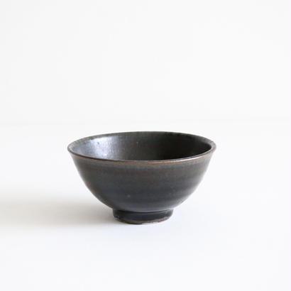 田谷直子/飯碗(黒瑠璃)