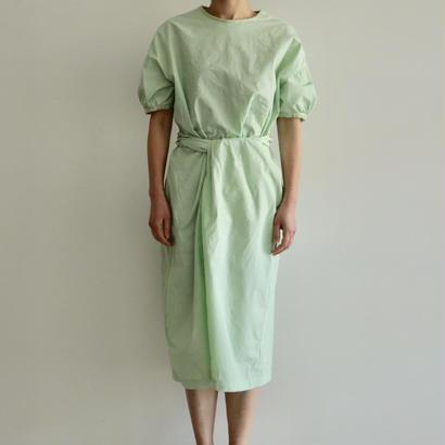 COSMIC WONDER /有機栽培綿の巻ドレス(NATURAL JADE/lady's)
