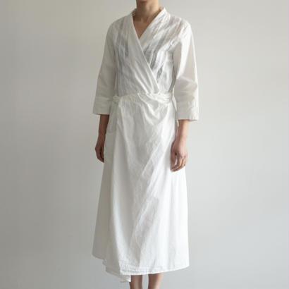 COSMIC WONDER /うみ羽衣の有機栽培綿巻ドレス(WHITE/lady's)