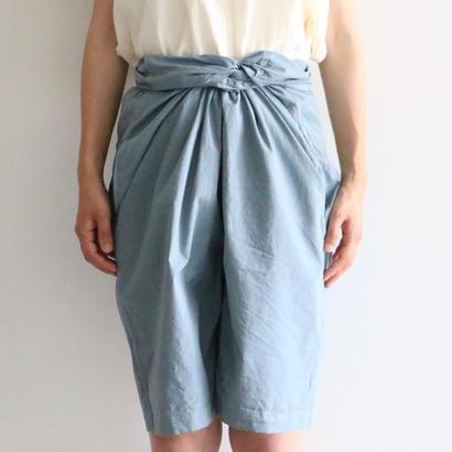 COSMIC WONDER /  巻きショートパンツ (natulal blue)