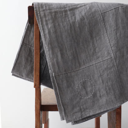 COSMIC WONDER / 麻のポジャギ巻布(gray)