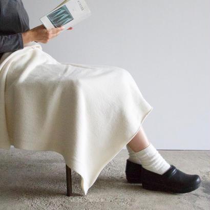 COSMIC WONDER / タスマニアウールのブランケット(white)