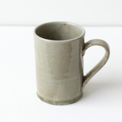 田谷直子/マグカップ(灰釉)
