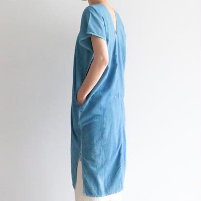 iroiro/Karen Dress - Half Sleeve (blue)