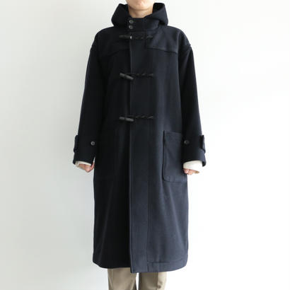 AURALEE/CASHMERE WOOL MOSSER BIG DUFFLE COAT(lady's/NAVY)