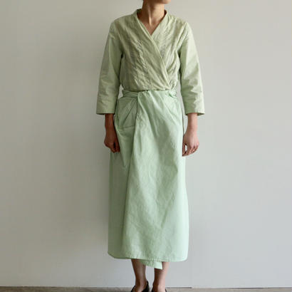 COSMIC WONDER /うみ羽衣の有機栽培綿巻ドレス(NATURAL JADE/lady's)
