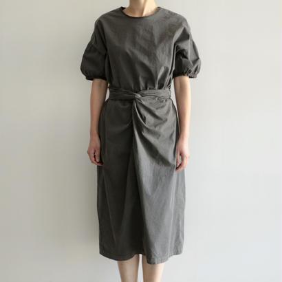 COSMIC WONDER /有機栽培綿の巻ドレス(SUMIKURO/lady's)