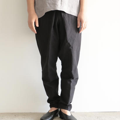 COSMIC WONDER /やま野衣のさしこたっつけもんぺパンツ(BLACK/men's)