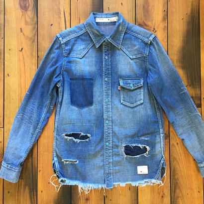 DENIM SHIRT H/USED / BS17AW-SH10