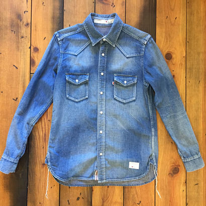 DENIM SHIRT USED【L.IND】/ BS17AW-SH08