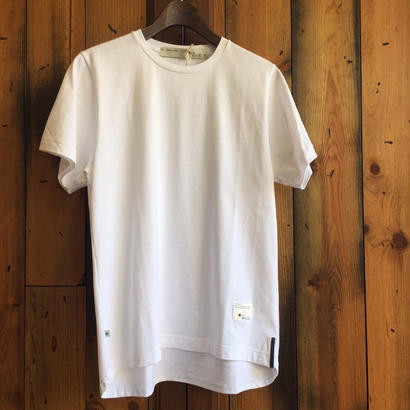 ROUND T-SHIRT【WHITE】/ BS17AW-CS02