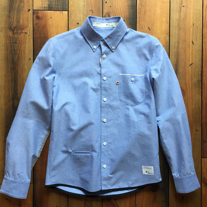 VINTAGE OXFORD SHIRT【BLUE】/ BS17AW-SH13