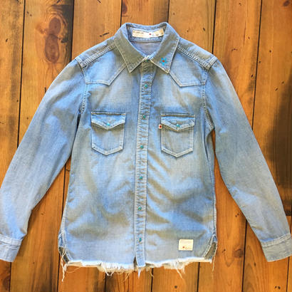 DENIM SHIRT C/O / BS17AW-SH09