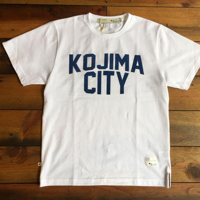 KOJIMA CITY PRINT T-SHIRT 【W-NV】/ BS-CS1-01