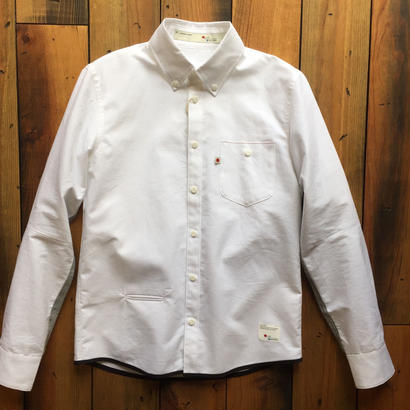 VINTAGE OXFORD SHIRT【WHITE】/ BS17AW-SH13