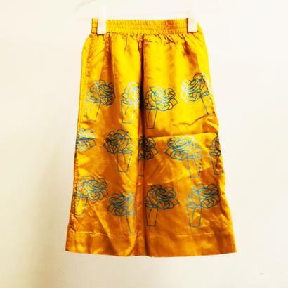オレンジ花柄スカート/EROTOKRITOS 未使用