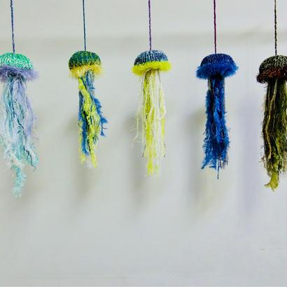 編みクラゲ  Jellyfish  [Medium]/203gow