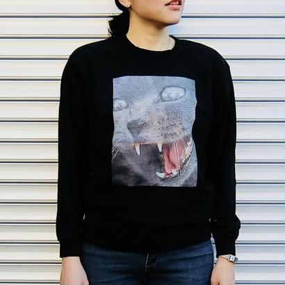 Mirror cat Sweatshirt  トレーナー /  83
