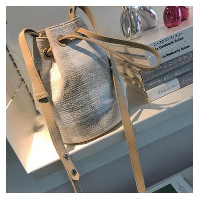 check巾着bag