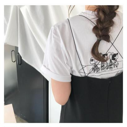 back printスヌーピー
