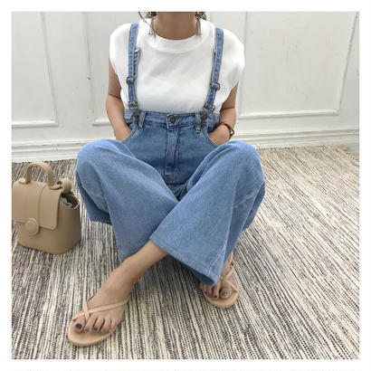 [即納/予約] Hi! denim overall