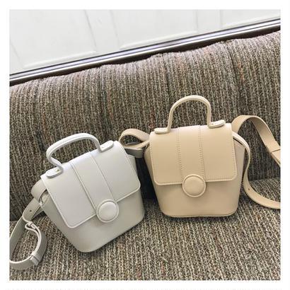 【予約 】Familiar boxbag (2color)