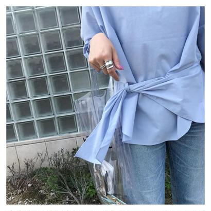 loosyカラースモッグシャツ(2color)
