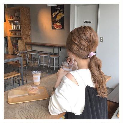 [数量限定] open shoulder tops