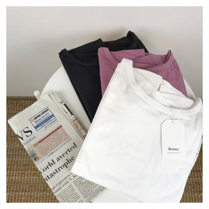 [即納 / 予約] one-shoulder  tops (3color)