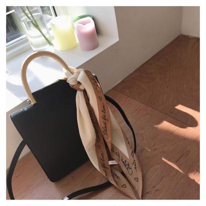 【数量限定 】wood handle bag