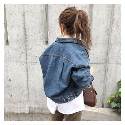 [即納/予約] over denim JK