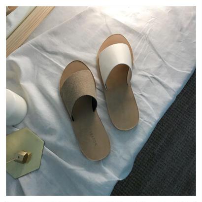 【予約 】basic sandal (2color)