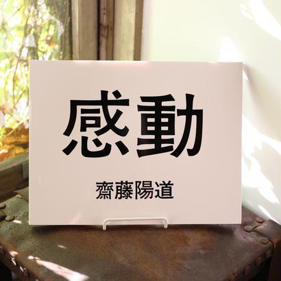 齋藤陽道  写真集『感動』