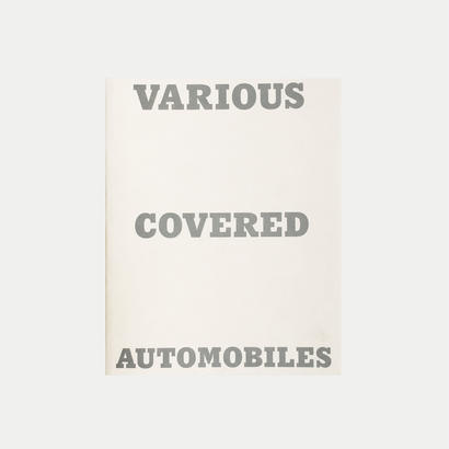 ホンマタカシ「VARIOUS COVERED AUTOMOBILES AND SNOW」
